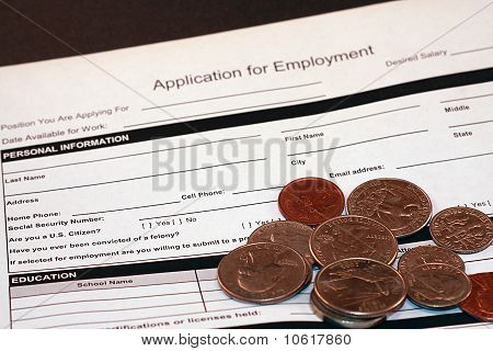 Application for Employment Job App