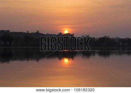 Sunrise In The Amazon