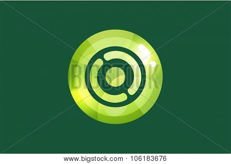Technology circle logo. Orbit rings. Vector circle. Circle logo design. Abstract circle shape. Round rings. Ring circle symbol. Thin line circle logo. Company circle logo. Together circle logo