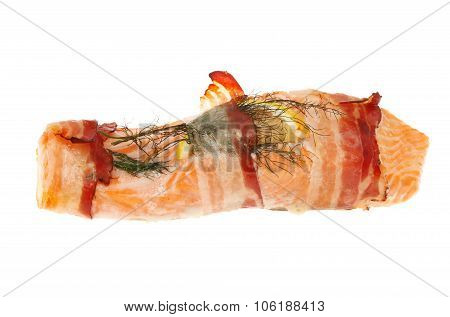 Sea Trout With Pancetta