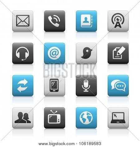 Telecommunications Icons // Matte Series