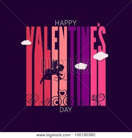 valentines day design vector background