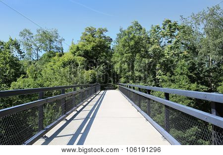 Bike and Walking Path Bridge