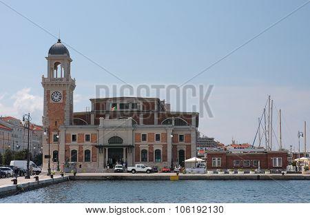 The Marine Aquarium Of The City Of Trieste