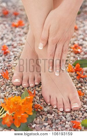 Natural Pedicure Manicure Feet Ankle Pain Massage Nature