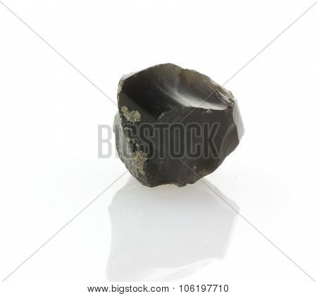 Flint Stone Isolated