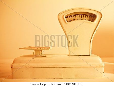 Retro Style Weight Scales For Food