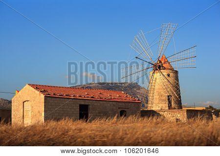 Windmill, Trapani
