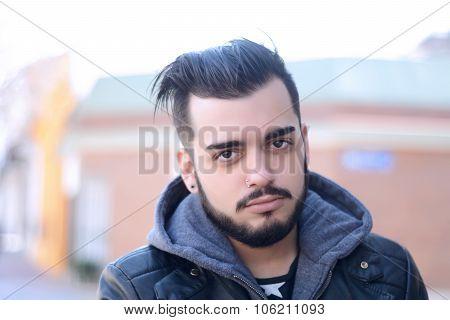 Portrait Of Latin Man
