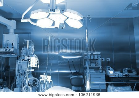Operating Room In The Hospital