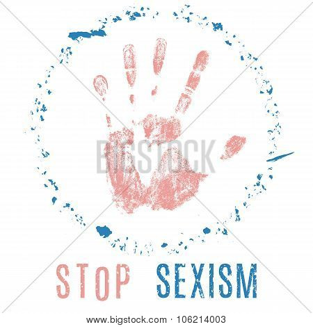Stop Sexism Sign
