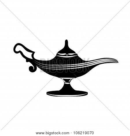 Oil Lamp Icon