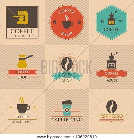 Coffee shop badges
