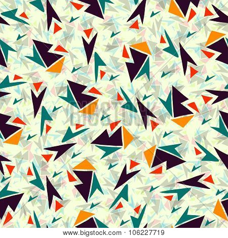 Abstract Color Pattern vector royalty free stock illustration
