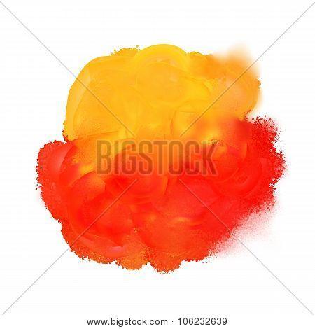 Spot Of  Paint