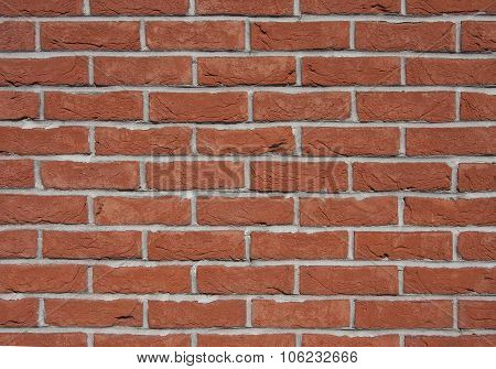 Old brick wall. texture red brick