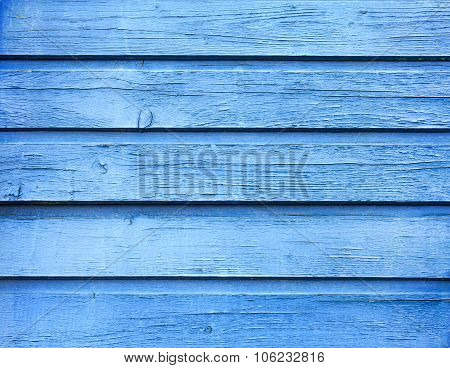 blue wood board texture