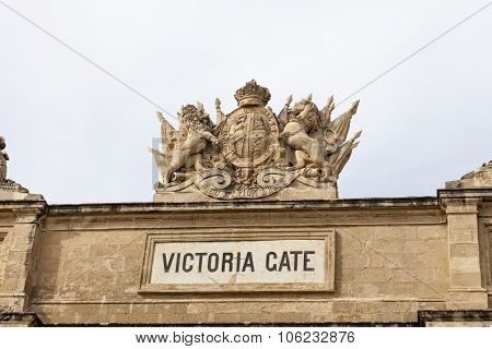 Victoria Gate In Capital Of Malta - Valletta, Europe