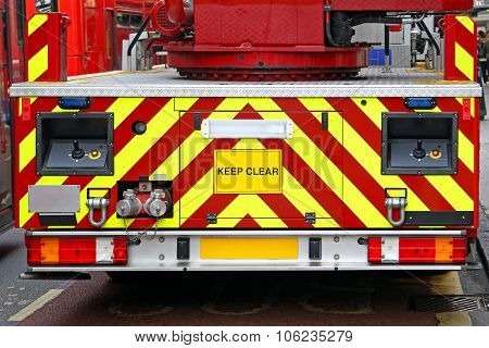Rear Fire Engine