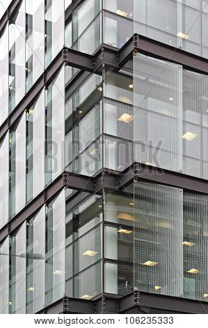 Glass Building Corner