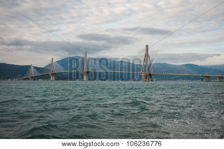 Rio-antirio Bridge , Greece