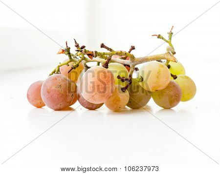 The vegetable variocolored grape object.