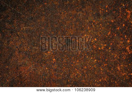 Metal Corroded Texture, Background Rusty Sheet