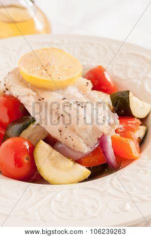 Fish Provencal