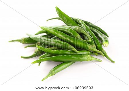 bunch of green jalapeno peppers