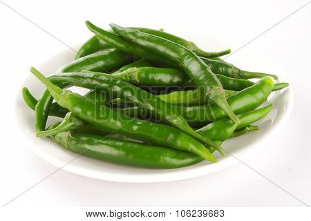 Organic fresh pepper