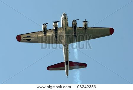 Old Bomber From Below