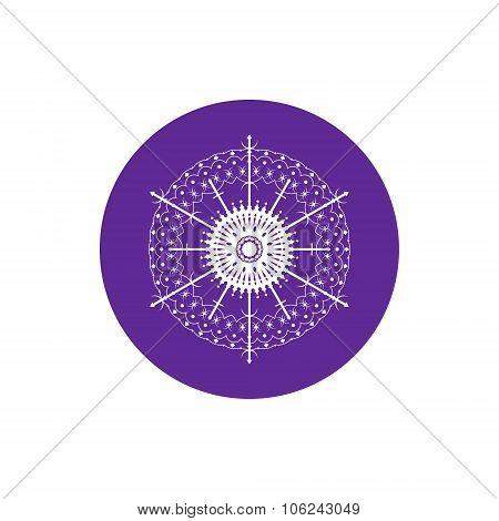 Linear Icon  Snowflake