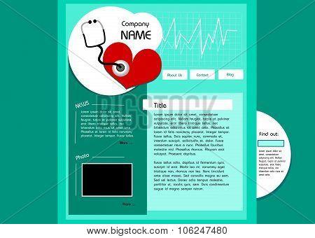 Cardio Web Template