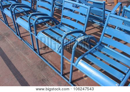 Blue Chairs Of Nice