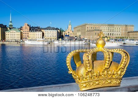 Golden Crown. Stockholm, Sweden