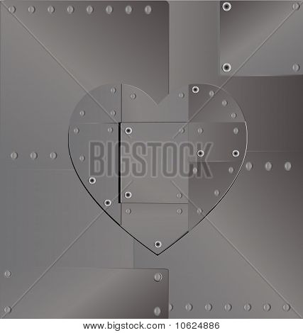 background heart iron