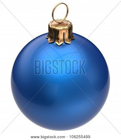 Christmas Ball Blue New Year's Eve Bauble Xmas Decoration