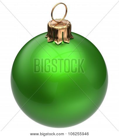 Christmas Ball Green New Year's Eve Bauble Xmas Decoration