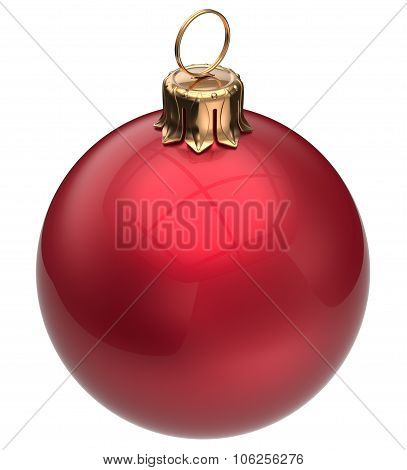 Christmas Ball Red New Year's Eve Bauble Xmas Decoration