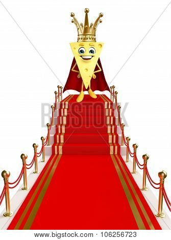 Cheese Character On The Red Carpet