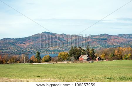 Old Vermont Barns