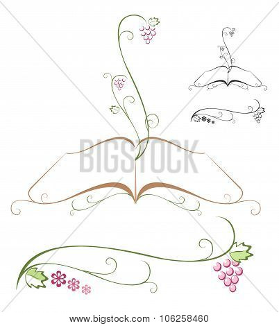 Bible. Floral design.