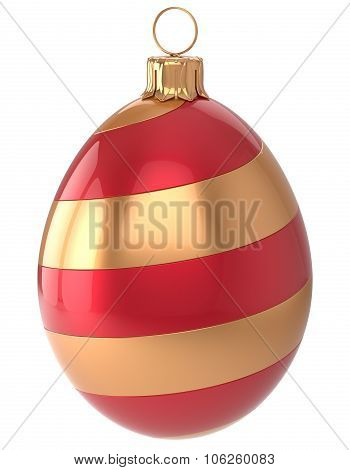 Christmas Ball New Year's Eve Egg Bauble Xmas Decoration