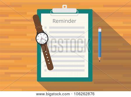 checklist clipboard reminder