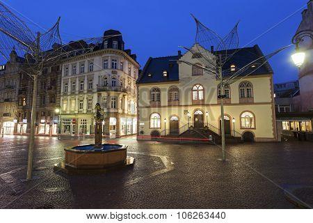 Old Rathaus In Wiesbaden