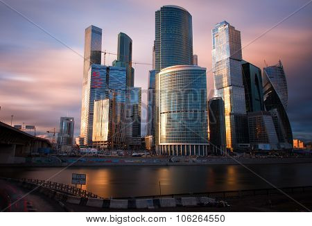 Moscow International Business Center, Moscow-city.