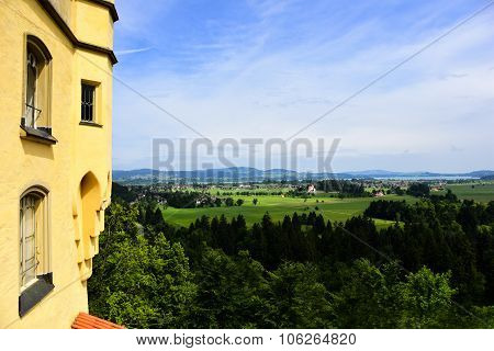 View From Castle Hohenschwangau