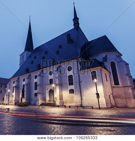 Church St. Peter And Paul In Weimar
