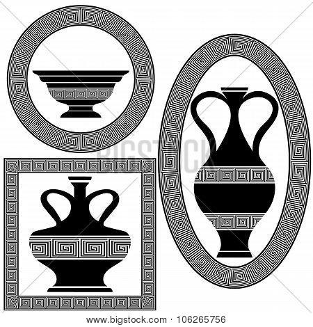 Set of Greek Frames
