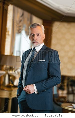 Concept for businessman in expensive hotel